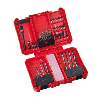 Milwaukee 4932352863 50 Piece Shockwave Fastening and Drilling Set