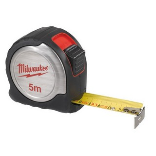 MILWAUKEE 4932451639 5M METRIC TAPE MEASURE (COMPACT SILVER)