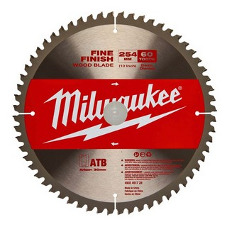 MILWAUKEE 4932451728 CIRCULAR SAW BLADE 254 X 30 X 60T