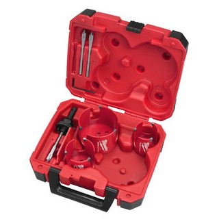 MILWAUKEE 49569075 7 PIECE BIG HAWG HOLESAW SET