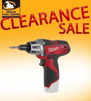 MILWAUKEE C12D-0 12V DRILL DRIVER (BARE UNIT)