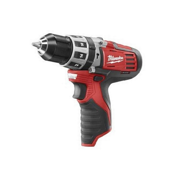 MILWAUKEE C12PD-0 12V COMBI HAMMER DRILL (BARE UNIT)