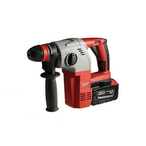 MILWAUKEE HD28HX-32C M28 28V HEAVY DUTY SDS+ 3 MODE HAMMER DRILL 2 x 3.0ah Li-ION BATTERIES