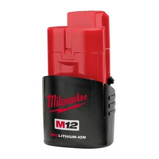 MILWAUKEE M12B 12V 1.5AH RED LITHIUM ION BATTERY