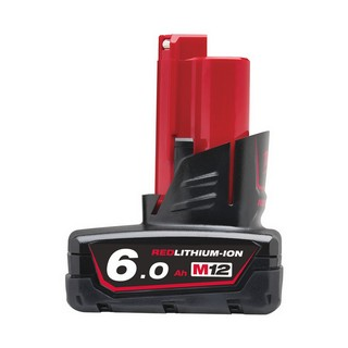 MILWAUKEE M12B6 12V 6.0AH LI-ION BATTERY