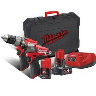 MILWAUKEE M12CPP2C-422 M12 FUEL TWIN PACK
