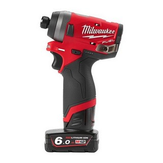 MILWAUKEE M12FID-602X M12 FUEL IMPACT DRIVER WITH 2 x 6.0AH BATTERIES