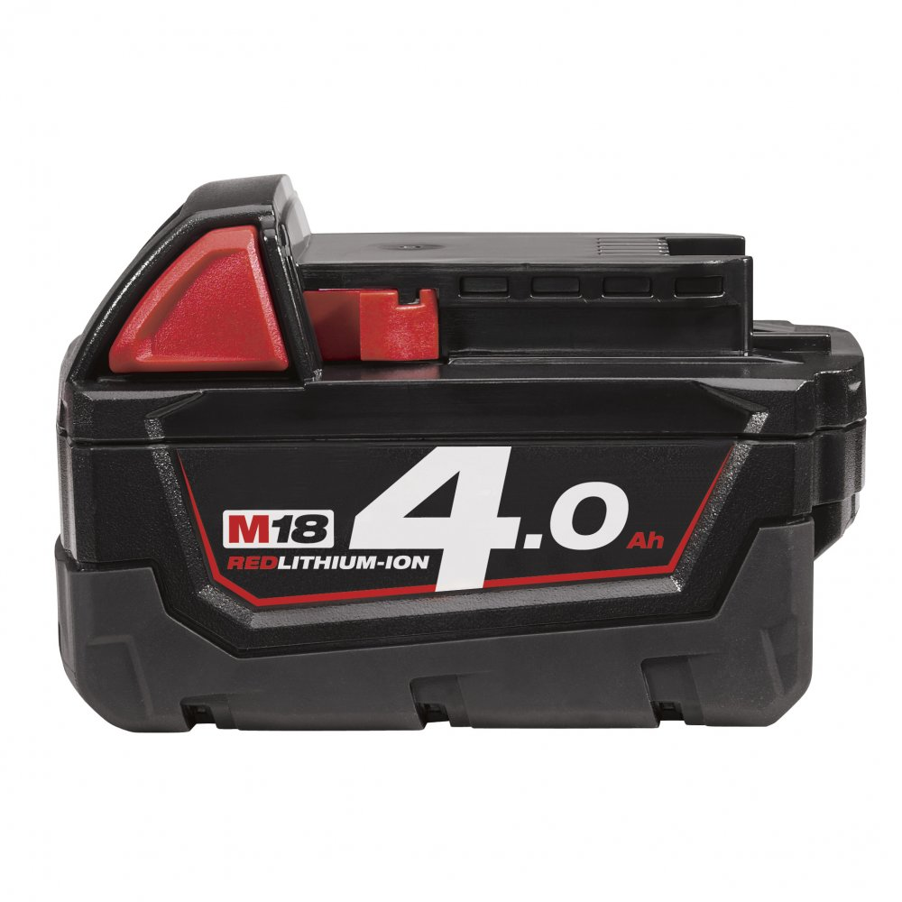 MILWAUKEE M18B4 18V 4.0AH RED LI-ION BATTERIES