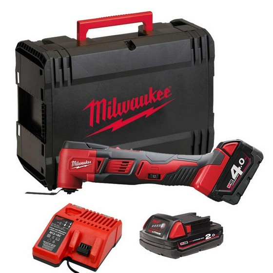 MILWAUKEE M18BMT-421C M18 18V COMPACT MULTI TOOL WITH 1X 4.0AH & 1X 2.0AH LI-ION BATTERIES