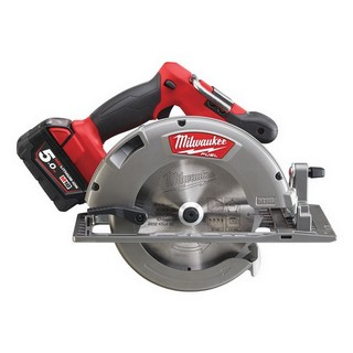 MILWAUKEE M18CCS66-502C 18V BRUSHLESS CIRCULAR SAW WITH 2X 5.0AH LI-ION BATTERIES