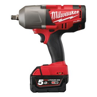 MILWAUKEE M18CHIWF12-502X 18V HEAVY DUTY BRUSHLESS 1/2IN IMPACT WRENCH WITH 2X 5.0AH LI-ION BATTERIES