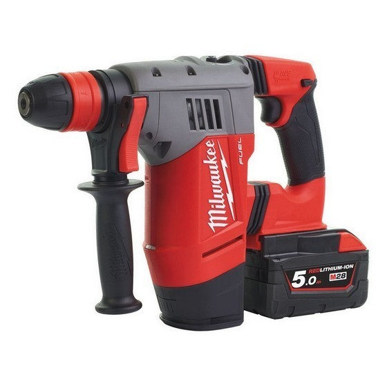 MILWAUKEE M18CHPX-502 18V BRUSHLESS SDS HAMMER DRILL WITH 2X 5.0AH LI-ION BATTERIES