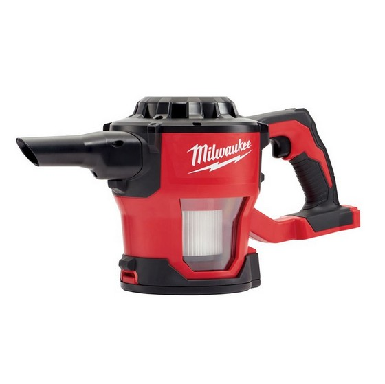 milwaukee m18cv 0 18v hand held vacuum body only anglia tool centre. Black Bedroom Furniture Sets. Home Design Ideas