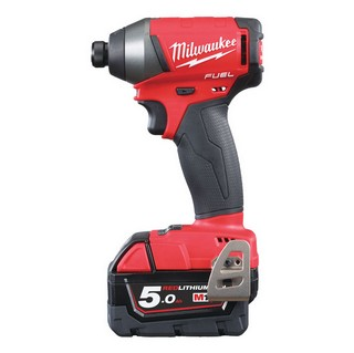 MILWAUKEE M18FID-502X BRUSHLESS FUEL 2 IMPACT DRIVER WITH 2X 5.0AH LI-ION BATTERIES