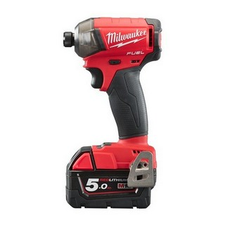 MILWAUKEE M18FQID-502X 18V BRUSHLESS SURGE IMPACT DRIVER WITH 2X5.0AH LI-ION BATTERIES