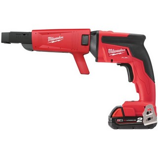MILWAUKEE M18FSGC-202X SCREW GUN WITH COLLATED ATTACHMENT & 2X 2.0AH LI-ION BATTERIES