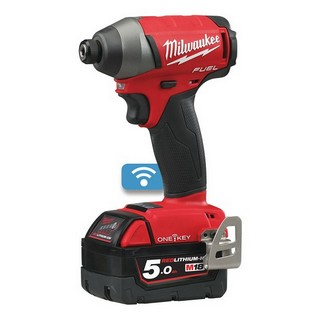 MILWAUKEE M18ONEID-502X 18V ONE KEY IMPACT DRIVER WITH 2X 5.0AH BATTERIES
