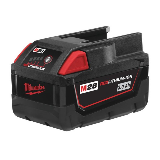 MILWAUKEE M28 BX 28v BATTERY 3.0ah Lithium-ion