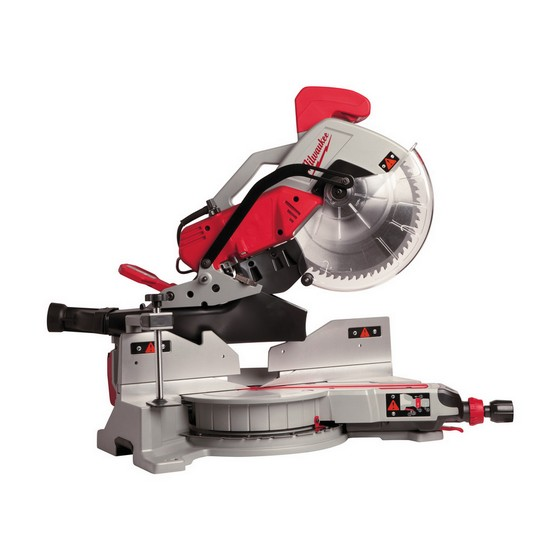 MILWAUKEE MS305-DB 305mm DOUBLE BEVEL MITRE SAW 110V