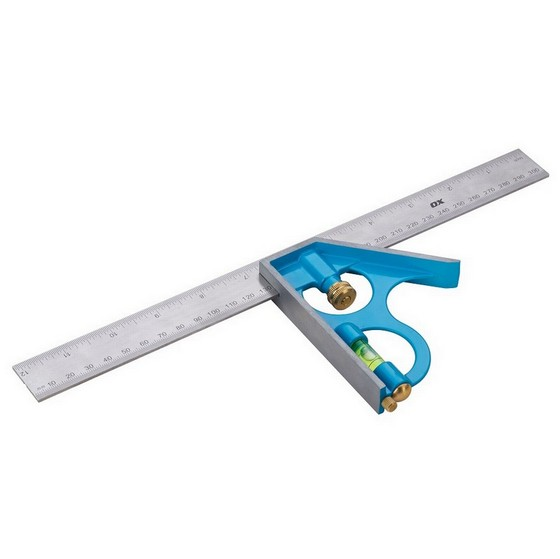 OX PRO COMBINATION SQUARE - 300MM / 12 INCH