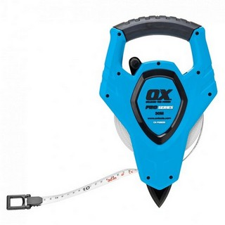OX PRO OPEN REEL TAPE MEASURE 50 METRE