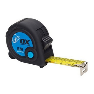 OX TRADE METRIC TAPE MEASURE 5M