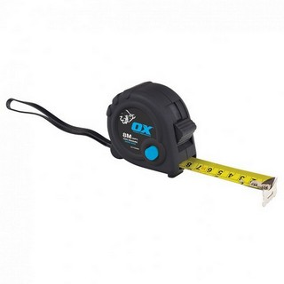 OX TRADE METRIC TAPE MEASURE 8M