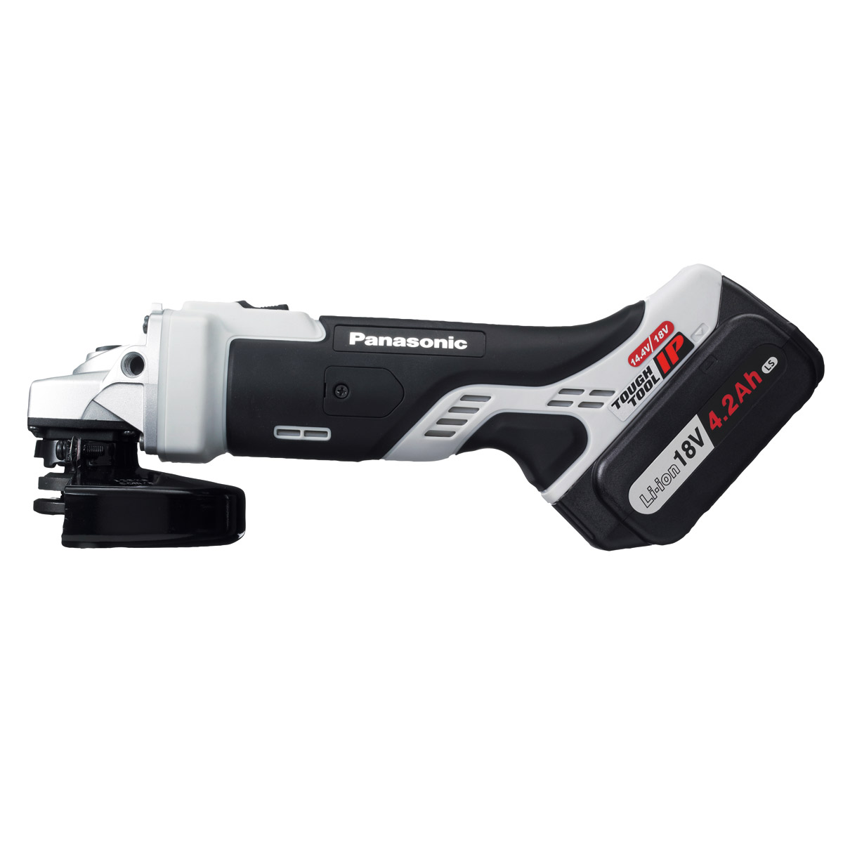 PANASONIC 18V DUAL VOLTAGE 125MM ANGLE GRINDER 2 X 18V 4.2AH LI-ION BATTERIES