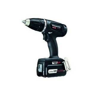 PANASONIC EY74A1LS3T31 18V DV DRILL DRIVER SPECIAL EDITION BLACK WITH 3X 4.2AH LI-ION BATTERIES