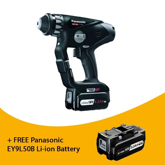 PANASONIC EY78A1LS3T31 ROTARY HAMMER DRILL DRIVER WITH 3x4.2AH LI-ION BATTERIES (SPECIAL EDITION)