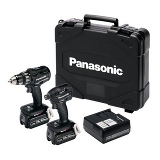 PANASONIC EYC215LJ2G31 18V BRUSHLESS TWIN PACK WITH 2X 5.0AH LI-ION BATTERIES