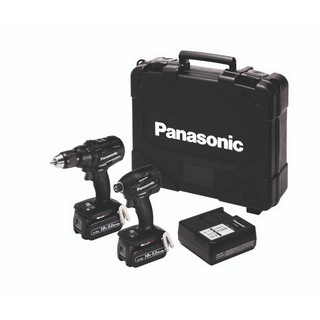 PANASONIC EYC217LJ2G31 18V COMBI DRILL & IMPACT DRIVER KIT WITH 2X 5.0AH LI-ION BATTERIES