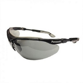 PANASONIC SAFETY SUNGLASSES (BLACK/GREY)