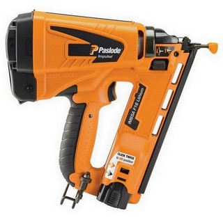 PASLODE IM65A LITHIUM F16 2ND FIX ANGLED BRAD NAILER 1 X LI-ION BATTERY
