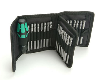 WERA WER059297 33 PIECE KOMPAKT 60 SCREWDRIVER BIT SET IN POUCH