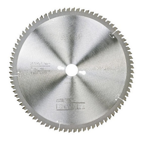 DEWALT DT4288-QZ SERIES 40 NEGATIVE RAKE MITRE SAW BLADE 305mm X 30mm Bore X 80 Teeth
