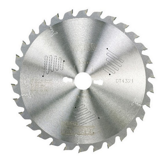 DEWALT DT4321-QZ SERIES 60 MITRE SAW BLADE 250mm X 30mm Bore X 30 Teeth