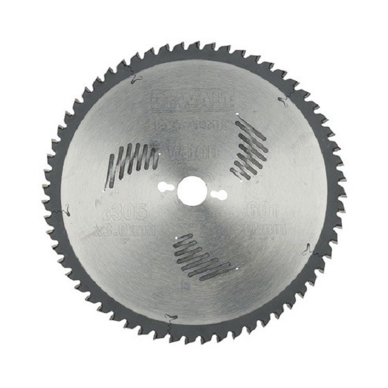 DEWALT DT4331-QZ SERIES 60 MITRE SAW BLADE 305mm X 30mm Bore X 60 Teeth