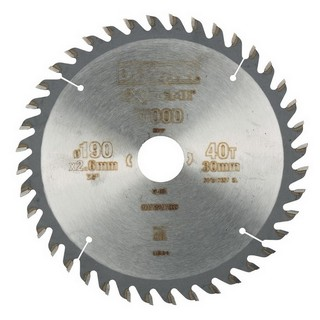 DEWALT DT4064-QZ SERIES 40 CIRCULAR SAW BLADE 190mm X 30mm Bore X 40 Teeth
