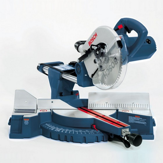 BOSCH GCM10SD 254MM SLIDING DOUBLE BEVEL MITRE SAW 110V