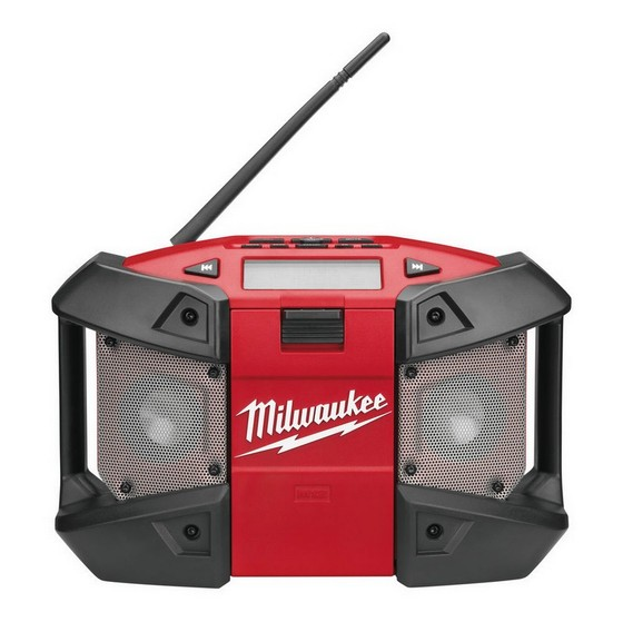 MILWAUKEE C12JSR 12V SITE RADIO 240V (BARE UNIT)