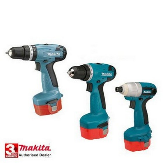MAKITA 6281DP3-TP 14.4V TRIPLE PACK  3 x 1.3ah Ni-Cad