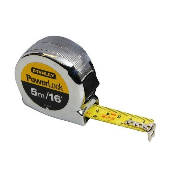 Image of Stanley Sta033553 Powerlock Tape Measure 5m16ft