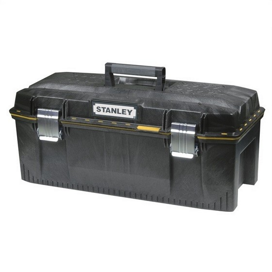 Image of STANLEY STA193935 28IN STRUCTURAL FOAM WATERPROOF TOOL BOX WITH TOTE TRAY