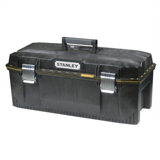 STANLEY STA193935 28IN STRUCTURAL FOAM WATERPROOF TOOL BOX WITH TOTE TRAY