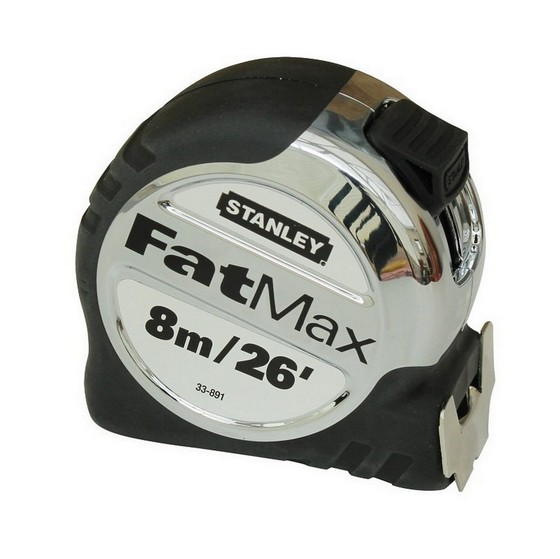 STANLEY STA533891 FATMAX TAPE MEASURE 8M/26FT