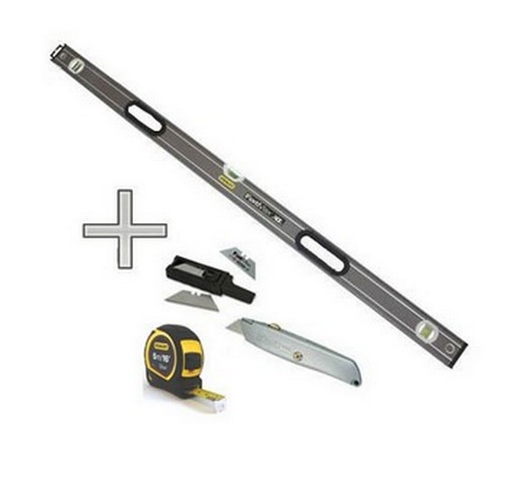 Stanley FatMax Box Beam Level 1800mm/72in 0-43-672 + GIFT SET