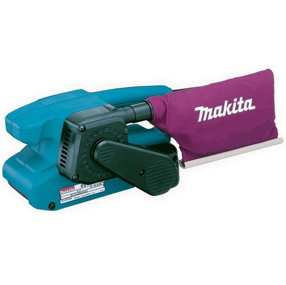 MAKITA 9911 3IN BELT SANDER (76X457MM) 240V + FREE SANDING BELTS