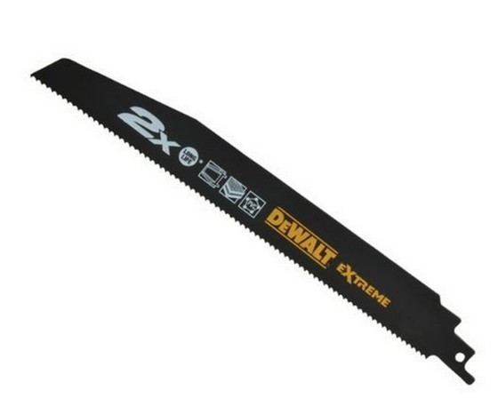 Dewalt DT2301-QZ DEMOLITION RECIP BLADES  152mm x 2.5mm PACK 5