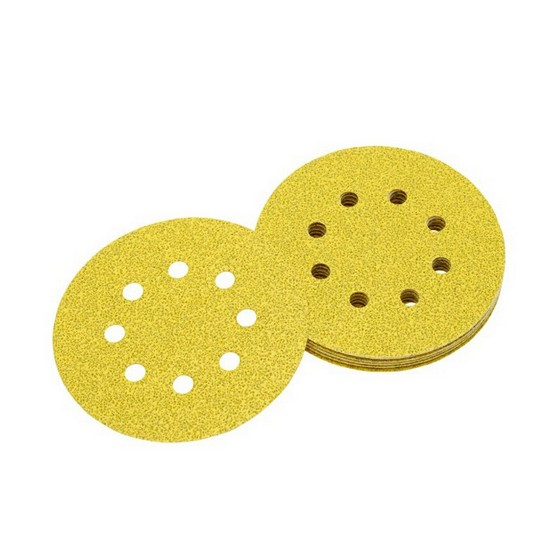 Image of Dewalt Dt3101qz 125mm Orbital Sanding Disc 40 Grit Pack Of 10